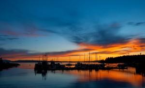 Northern Sunshine Coast Sunset