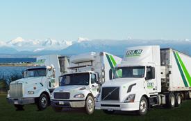 scenic with trucks